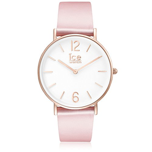 Ice-Watch - CITY tanner Pink Rose-Gold - Montre rose pour femme avec bracelet en cuir - 001512 (Small)
