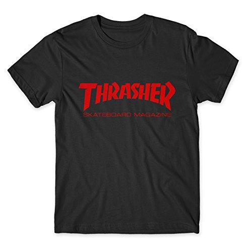 Artist t-shirt thrasher rosso red (s, nero)