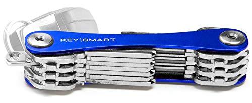 cb0ac50481 KeySmart Extended | Organizzatore e portachiavi compatto (2-22 chiavi, blu)