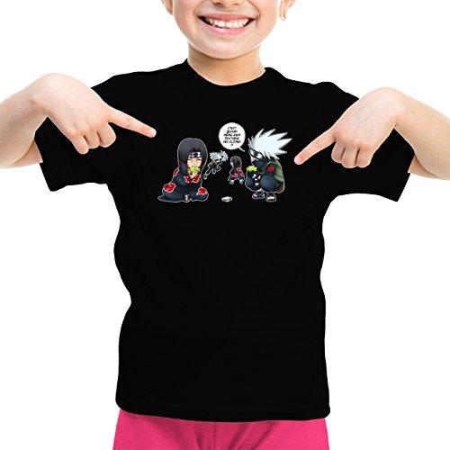 T-Shirts Naruto parodique Kakashi Itachi : Combat de Ninjas ! (Parodie Naruto)
