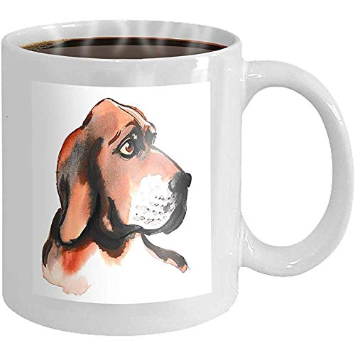 Taza de té de cerámica, regalos de novedad, taza de café divertida, taza de porcelana Atrapasueños Plumas Mariposa estilo boho dibujado a mano aislado abigarrado 11 oz, taza de desayuno blanca