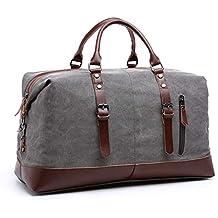 Grand sac de voyage en toile avec fourre-tout, sac à main et sac c563dcd908e