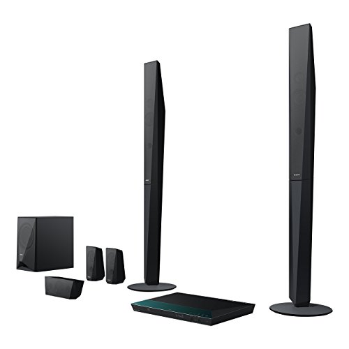 Sony BDV-E4100 5.1 Blu-ray Heimkinosystem (1000 Watt, 3D, W-LAN, Smart TV, Bluetooth, NFC) schwarz