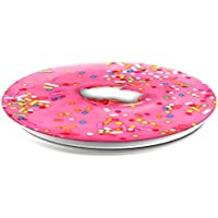 PopSockets Expanding Grip Case with Stand for Smartphones and Tablets - Pink Donut