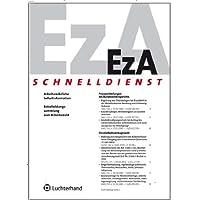 EzA-Schnelldienst [Jahresabo]
