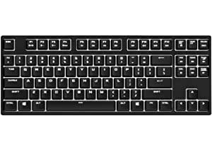 Cooler Master QuickFire Rapid-i Fully Backlit Mechanical Gaming Keyboard with ActivLite Technology and Per-Key Lighting Profiles (White LED/Brown Switch Model)