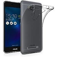ELTD Coque Asus Zenfone 3 Max ZC520TL, High quality smooth silicone back Étui Coque Housse De Protection pour Asus Zenfone 3 Max 5.2 ZC520TL, Transparent