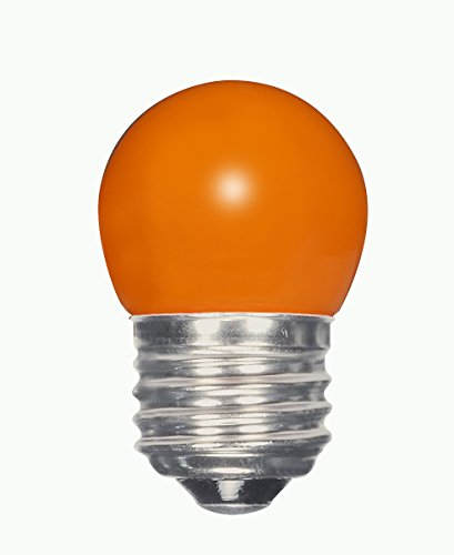 Satco S9164 LED S11 Keramik Orange mittlere Base Glühbirne, 1,2W