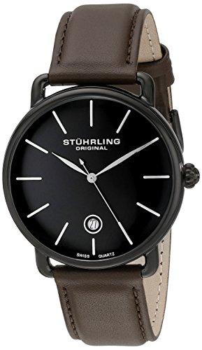 stuhrling-original-man-agent-76803-reloj-de-pulsera-cuarzo-suizo-hombre-correa-de-piel-marron