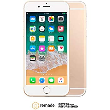 "Apple iPhone 6 16GB Oro 4.7"" Remade iOS Smartphone Reacondicionado Premium"