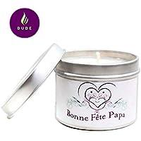 Bougie Parfumée Bonne Fête Papa Parfum au choix Bougie Naturelle Cadeaux Merci Papa Cadeau Fête des pères Cadeaux Personnalisés