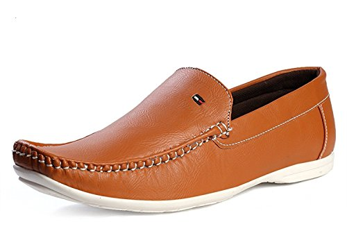 SGTS Casual Brown Loafer Shoes - 8