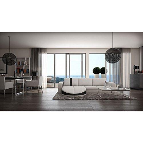 Muebles bonitos sofa de dise o moderno rosa blanco con - Muebles de diseno moderno ...
