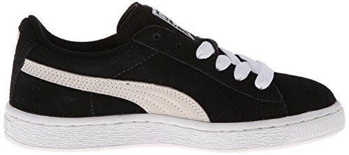 Puma Suede Unisex-Kinder Sneakers Schwarz/Weiß