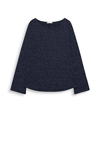 edc by ESPRIT Damen Langarmshirt Blau (Navy 5 404)