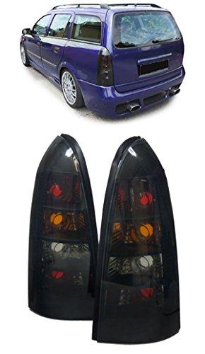 RÜCKLEUCHTEN SCHWARZ - PAAR (Opel Astra G Rückleuchten)