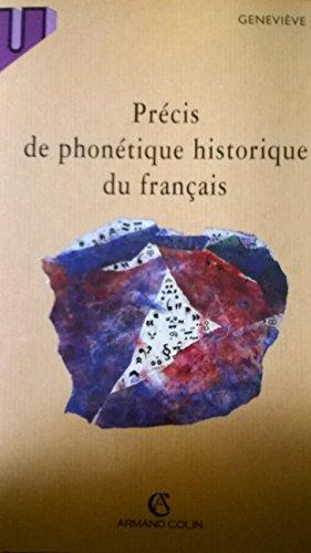Précis de phonétique historique du français par Geneviève Joly
