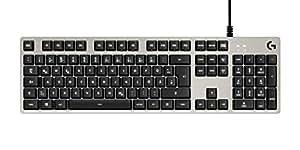 Logitech G413 Mechanische Gaming-Tastatur (Deutsches Layout) silver