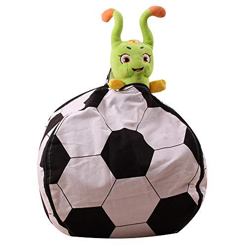 Fußball Speicher Sitzsack Kinder Stofftier Plüsch Spielzeug Baumwolle Speicher Sitzsack Multicolor...