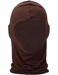 niceEshop(TM) Protegen la Cara Bicicletas de Esquí Máscaras / Viento y El Polvo Máscara(Café)