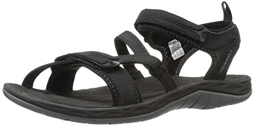 Merrell Siren Strap Q2 Womens Sandals UK 3 Black