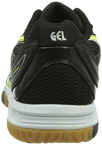 Asics GEL-TASK – Sneaker, Taille - multicolore Blanc - Wei (WHITE/FLASH YELLOW/BLACK 0104)