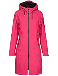 59079e75dabfe6 ILSE JACOBSEN Women Rain37 Long Raincoat Warm Pink