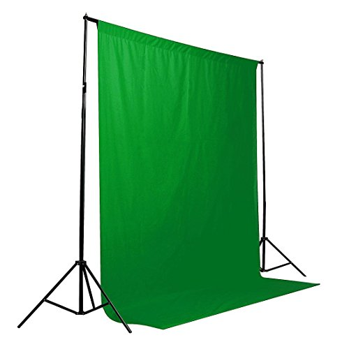 1,8 x 2,7 M Grün 100% Baumwolle Foto Studio Video Muslin Fotografie-Hintergrund-Hintergrund Collapsible Muslin Hintergrund