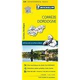 Carte Corrèze, Dordogne Michelin