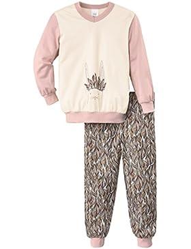 Calida Mädchen Zweiteiliger Schlafanzug Pyjama Bündchen Feather Bunny