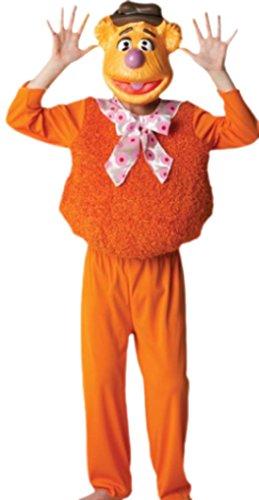 erdbeerloft - Unisex - Kinder Karnevalskomplettkostüm Muppet Show Fozzy , 134, Braun