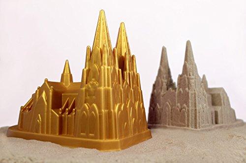 Kölner Dom Sandförmchen - cologne cathedral sandform (Gold)