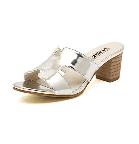 XTIAN - Pantofole Donna Argento