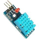 CAOLATOR DHT11 XTW Módulo de Sensor de Temperatura y Humedad Módulo Digital de Temperatura y Humedad