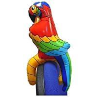 Inflatable Parrot on Shoulder (HN00507-CHNA-FLTB) (accesorio de disfraz)