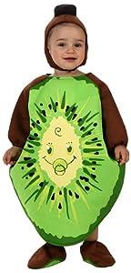 Atosa- Disfraz Kiwi, 0 a 6 meses (10438)