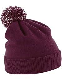TTC Beannie Bobble Hat Mens Womens Warmer Beechfield New Bobble Hats