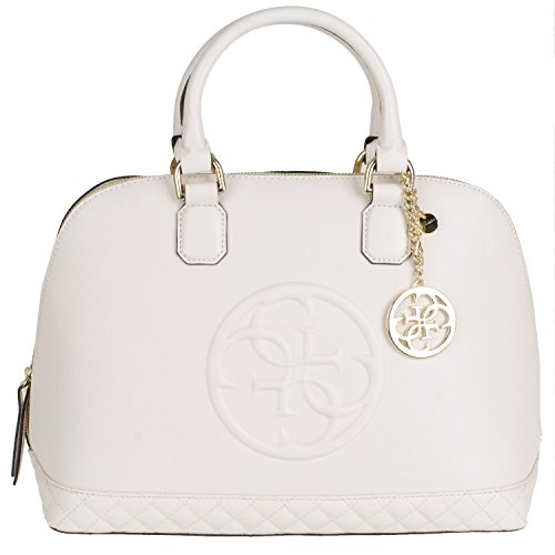 Preisvergleich Produktbild Guess Amy Dome Satchel AMY2P6238 Damentasche 35x28x17cm ivory