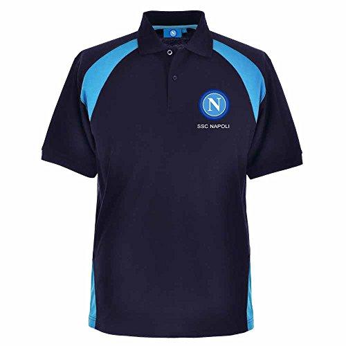 SSC Napoli Polo Shirt (Double XXL (2XXL)) Ssc Cap