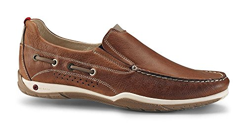 Mocassino marrone oliato aerato - scarpe estive - 39 - prodotto originale red rock