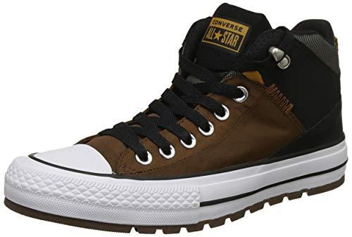 Converse Unisex Chestnut Brown/Black Sneakers - 9 UK/India (42.5 EU)(8907788084470)