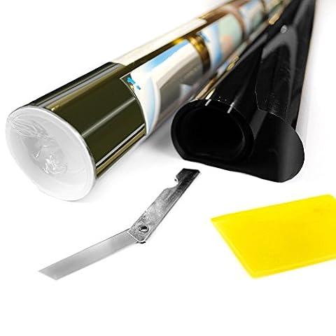 Pro Anit-scratch film teinté pour vitres de voitures 5% 6m X 75cm