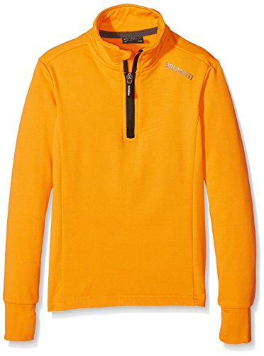 Brunotti Jungen Ternias JR Boys Fleece, Fluo Orange, 140