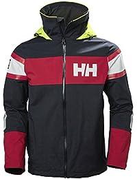 Helly Hansen Salt Jacket, Chaqueta Deportiva para Hombre, Azul (Azul Navy 597), Large (Tamaño del fabricante:L)