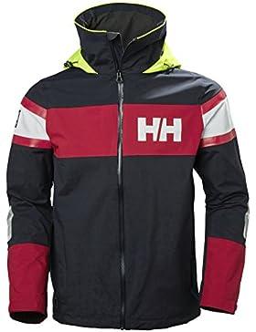Helly Hansen para hombre Chaqueta de bandera de sal, hombre, color azul marino, tamaño Medium