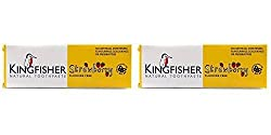 (2 Pack) - Kingfisher Children's Strawberry Toothpaste | 75ml | 2 Pack - Super Saver - Save Money