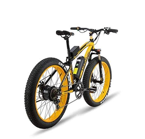 KPLMⓇ Bicicleta eléctrica Plegable Potencia Adultos