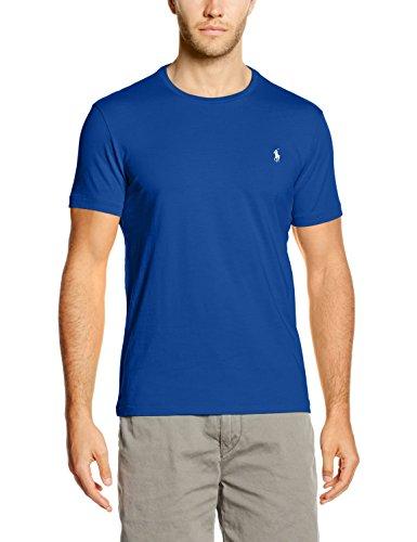 Polo Ralph Lauren SS CN CMFIT PPC, T-Shirt Homme, Bleu (Sapphire), XXL