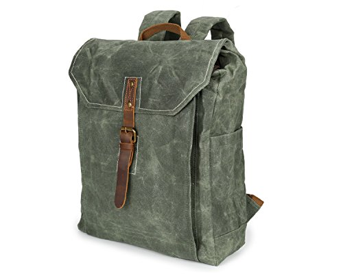 DXL-Men's Bags Männer Rucksack Batik Canvas Vintage Rucksack wasserdichte Outdoor-Reisetasche College Wind Rucksack Herrentaschen (Color : Bronze, Size : M) - Wind Shoe Cover