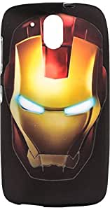 Purple Eyes Generic Night Glow Back Case Cover For HTC Desire 526+ Plus Iron Man (Multi-coloured)